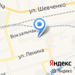 Колобок на карте Гурьевска