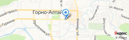 Гурман на карте Горно-Алтайска