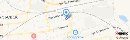 Нотариус Фомин И.В. на карте Гурьевска