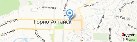 Ветераны боевых действий на карте Горно-Алтайска