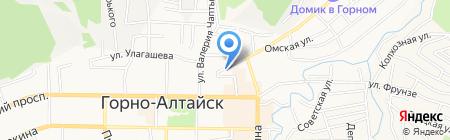 Маяк на карте Горно-Алтайска