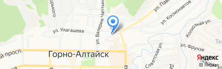 Rikki-Tikki на карте Горно-Алтайска