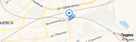 Formoza на карте Гурьевска