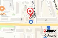 Схема проезда до компании Финстроко в Поспелихе