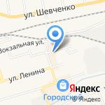 Фруктовый на карте Гурьевска