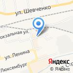 Мобильная территория на карте Гурьевска