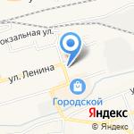 Кружка на карте Гурьевска