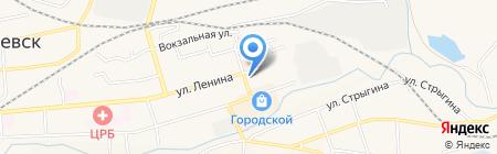Implozia на карте Гурьевска