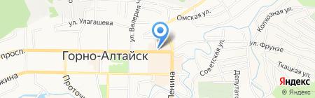 Киоск по продаже мороженого на карте Горно-Алтайска
