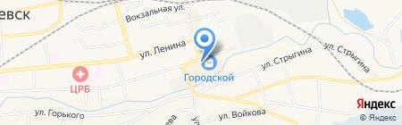 Империал на карте Гурьевска