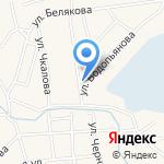 Август на карте Гурьевска