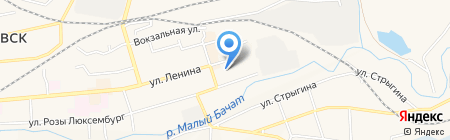 Веллком на карте Гурьевска
