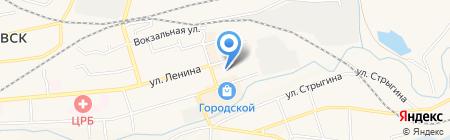 Медвежий угол на карте Гурьевска