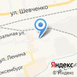 Крафт на карте Гурьевска