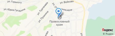 Раиса на карте Гурьевска