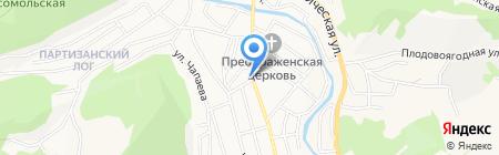 Продукты Ефимовых на карте Горно-Алтайска