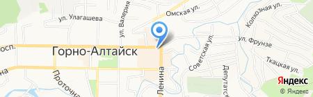 Связной на карте Горно-Алтайска