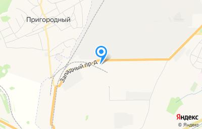 Местоположение на карте пункта техосмотра по адресу г Кемерово, проезд Западный, д 5