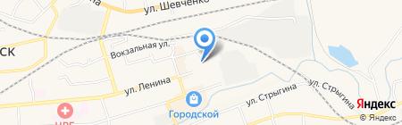 Винтаж на карте Гурьевска