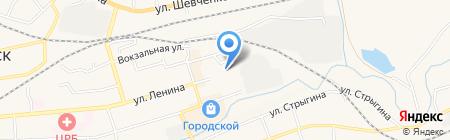 Спринт на карте Гурьевска