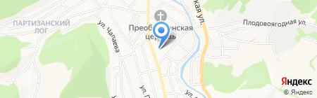 Средняя общеобразовательная школа №13 на карте Горно-Алтайска