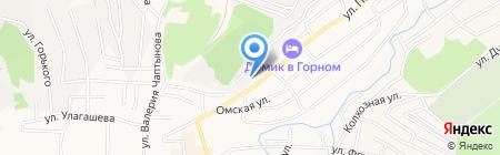 Городская библиотека №1 на карте Горно-Алтайска