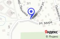Схема проезда до компании СПК БЕШ-ОЗЕК в Горно-Алтайске