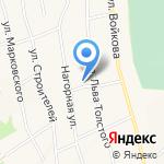 Фомич на карте Гурьевска