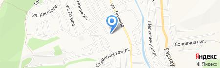 Золушка на карте Горно-Алтайска