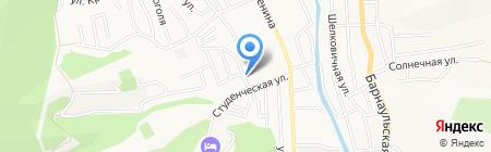 ТЕРА на карте Горно-Алтайска