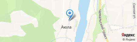 Продуктовый магазин на карте Аюлы