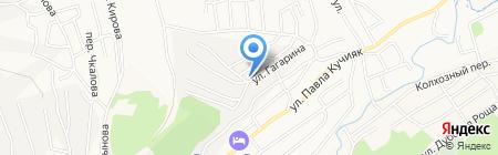 Общежитие гостиничного типа на карте Горно-Алтайска