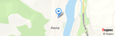Данс и К на карте Аюлы