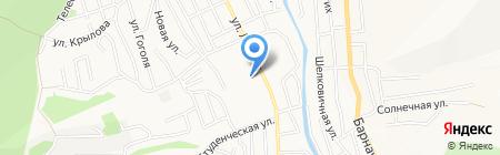 Цветочный двор на карте Горно-Алтайска