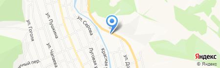Добрый на карте Горно-Алтайска