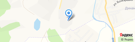 Еланда на карте Горно-Алтайска