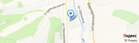 СтройМаг на карте Горно-Алтайска