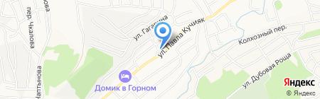 Корзинка Пятый угол на карте Горно-Алтайска