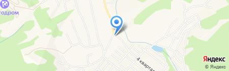 Корзинка на карте Гурьевска