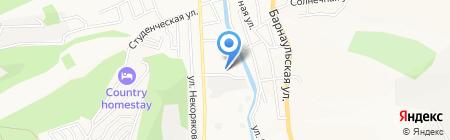 Производственная компания на карте Горно-Алтайска