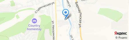 Сибирьспецмонтаж на карте Горно-Алтайска