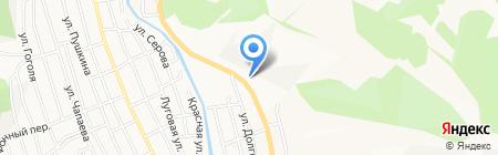 Автолидер на карте Горно-Алтайска