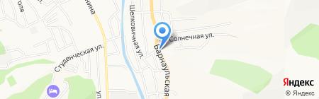 Кристина на карте Горно-Алтайска