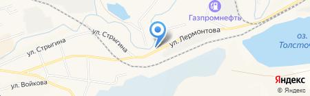Торговый дом СибСвет на карте Гурьевска