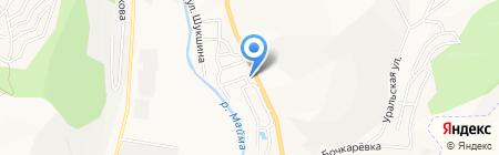 АЗС Газойл Плюс на карте Горно-Алтайска