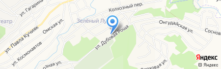 Отдел вневедомственной охраны МВД по Республике Алтай на карте Горно-Алтайска