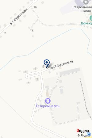 АЗС КУЗБАССНЕФТЕПРОДУКТ на карте Гурьевска