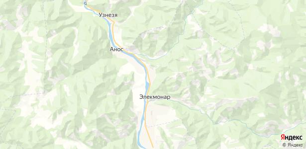 Элекмонар на карте