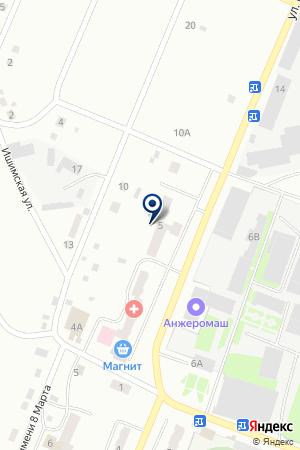ТЕЛЕФОНЫ-АВТОМАТЫ на карте Анжеро-Судженска