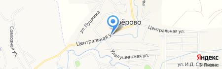 Фельдшерско-акушерский пункт на карте Алферово